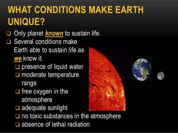 Unique Earth - Earth Science - Astronomy Unit