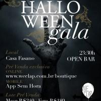 Halloween de Gala, na Casa Fasano, em outubro