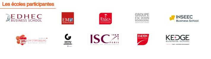 Ecoles participantes IBDE 2016