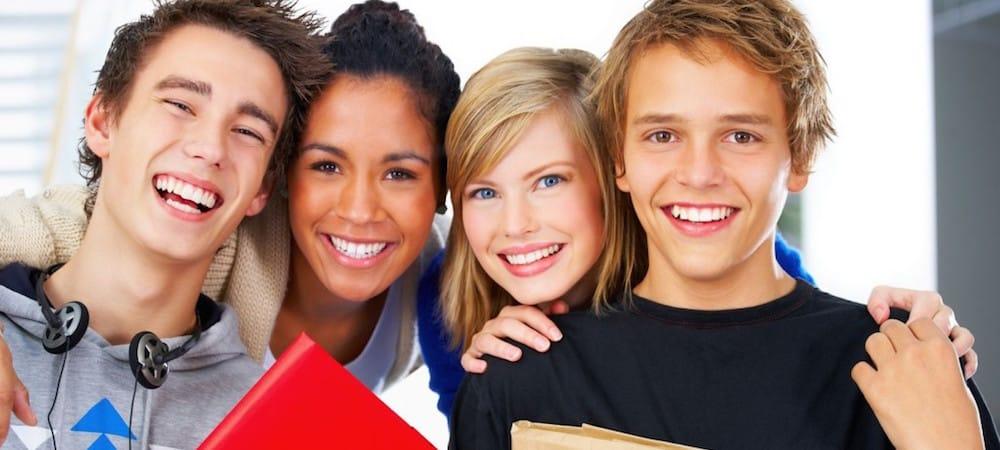 Etude: les adolescents sont globalement heureux dans la vie