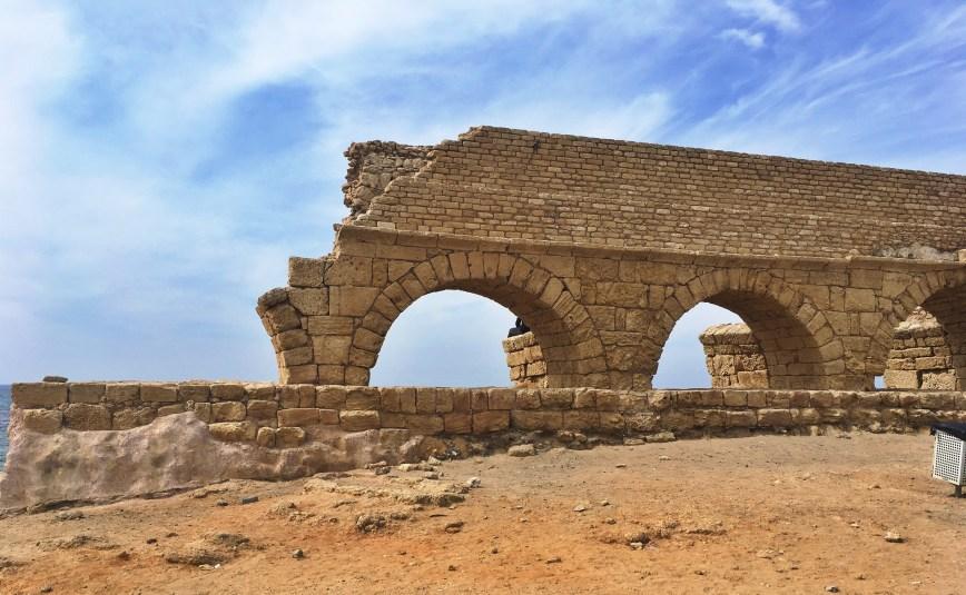 The walk to Caesarea.