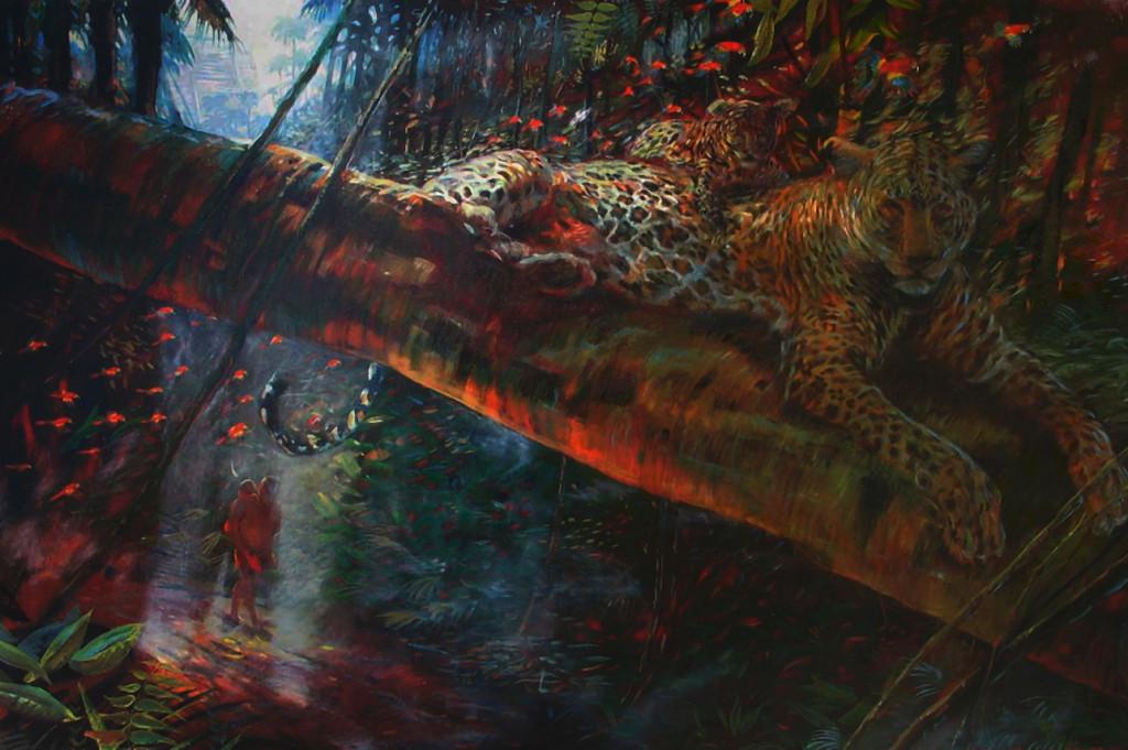 Jaugar Painting