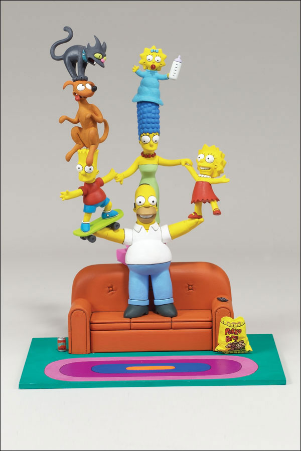 The Simpsons Boxed Set Family Couch Gag