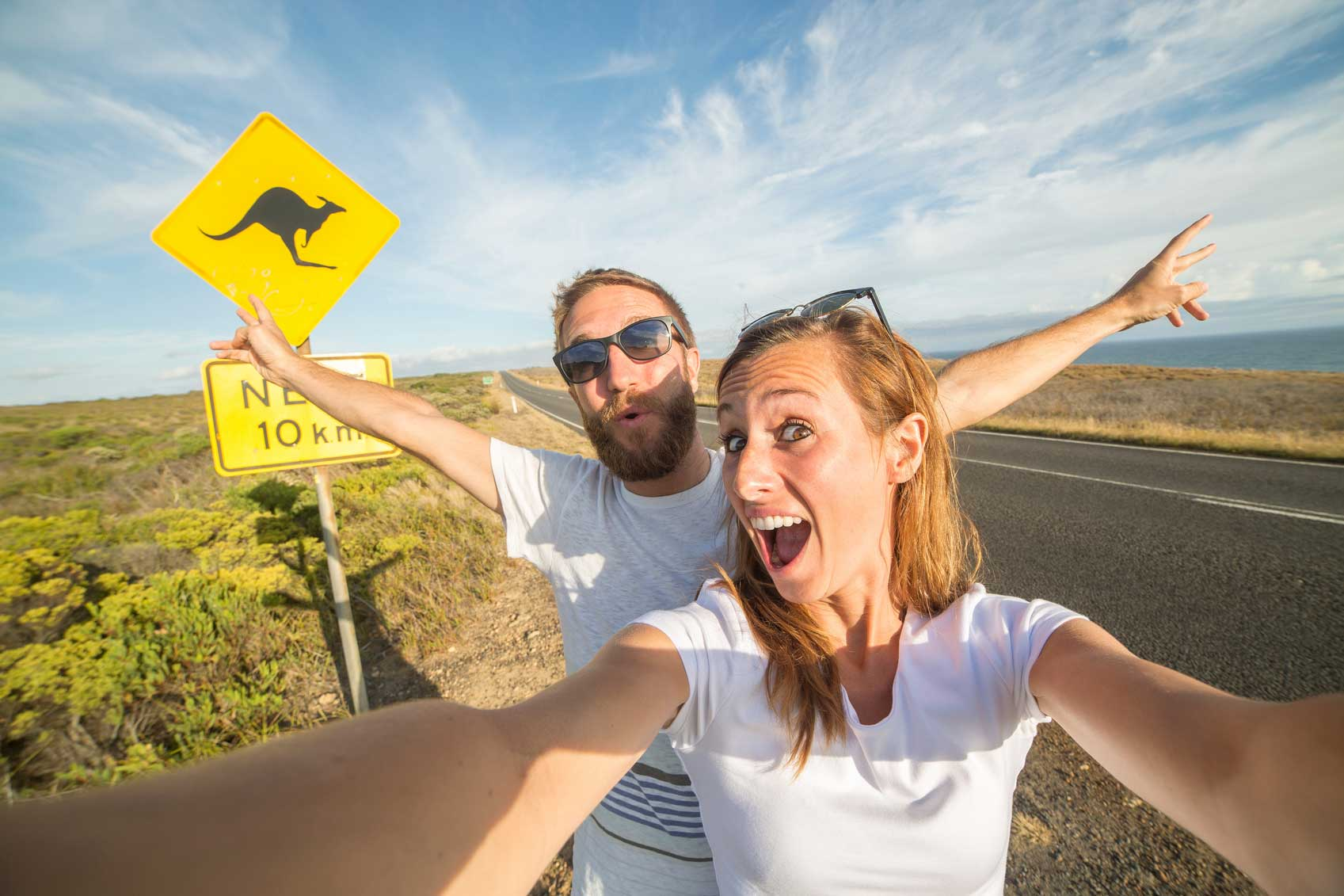 Couple-take-selfie-portrait-in-Australia-000089828419_Medium