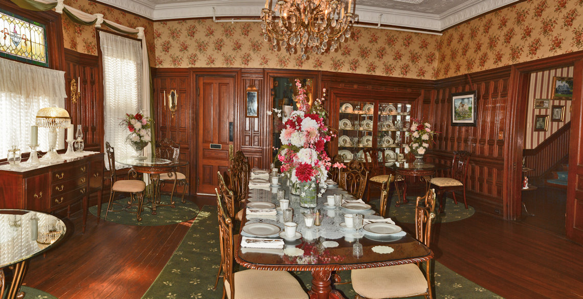 McFarlin House Bed and Breakfast in Quincy, FL - Dining Area #1