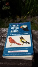 My first field guide! Let the birdwatching begin!