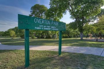 Overton Park sign