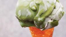 green tea white chocolate magic shell