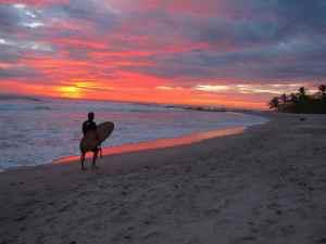 Surfeur Costa Rica