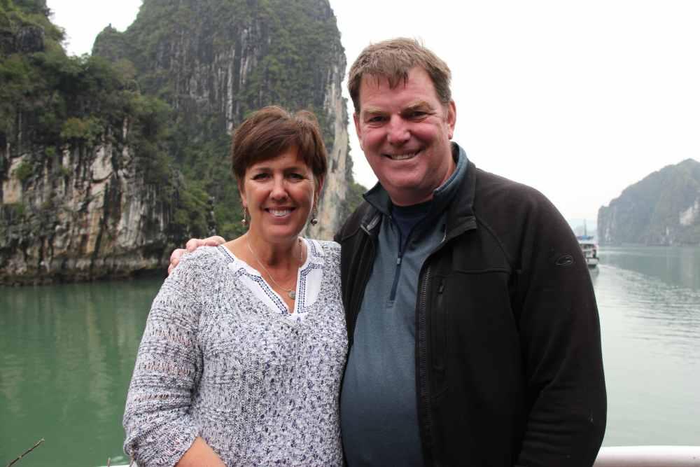 Martine et Michel au Vietnam