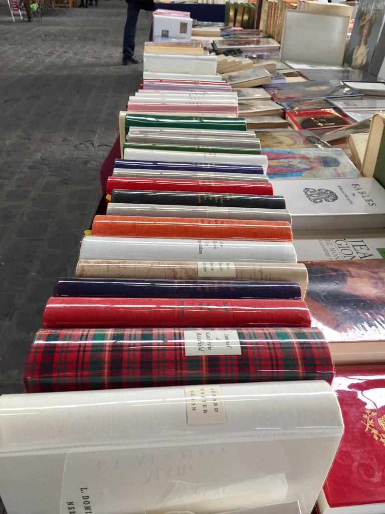 Marché Livre ancien Paris
