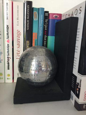BookEnd Globe Cadeaux pour voyageurs