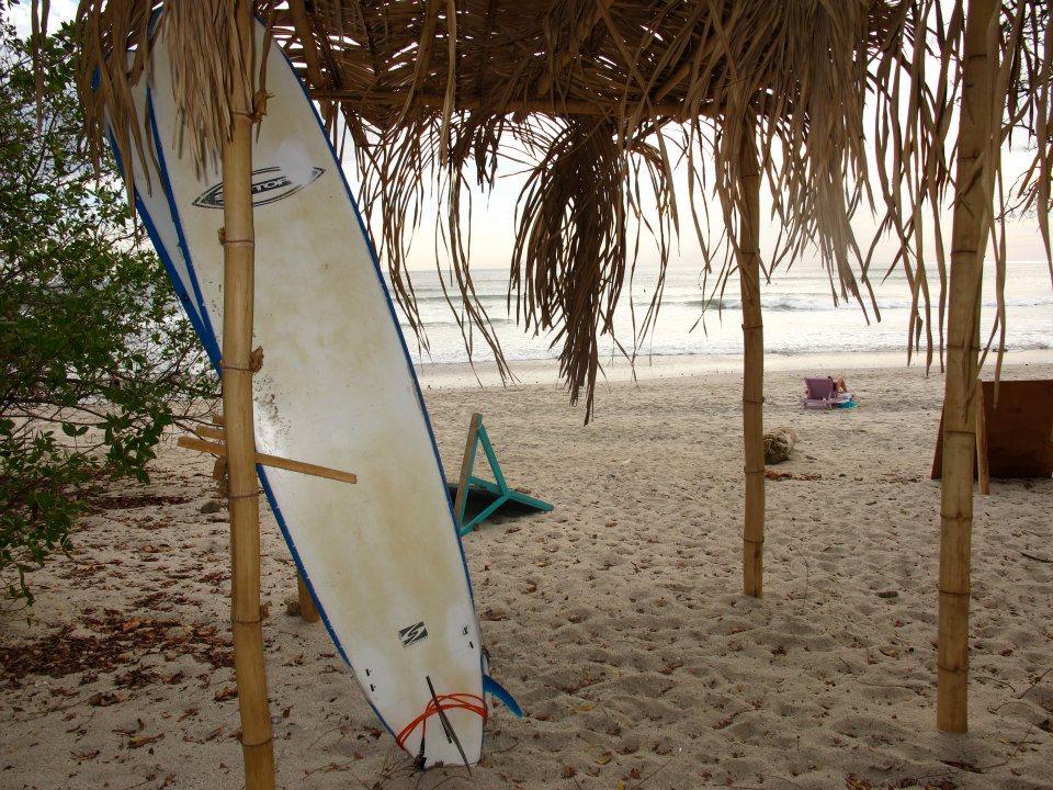 Planche de surf au Costa Rica