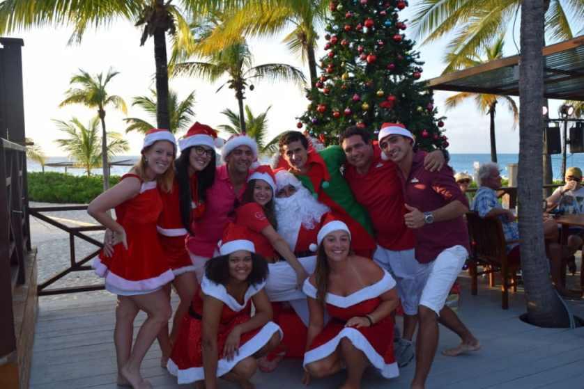 Équipe Club Med Noël