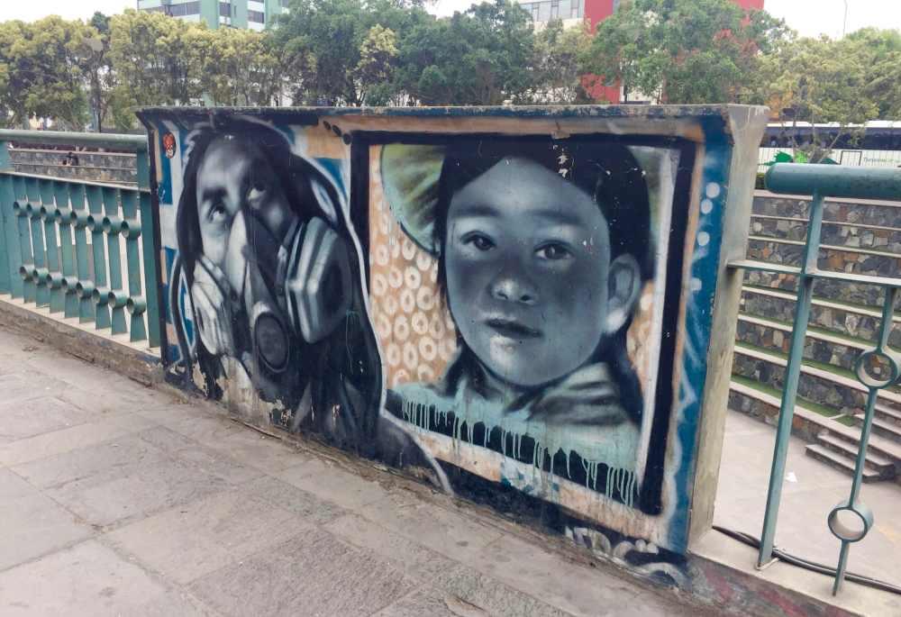 Street Art Lima Pérou