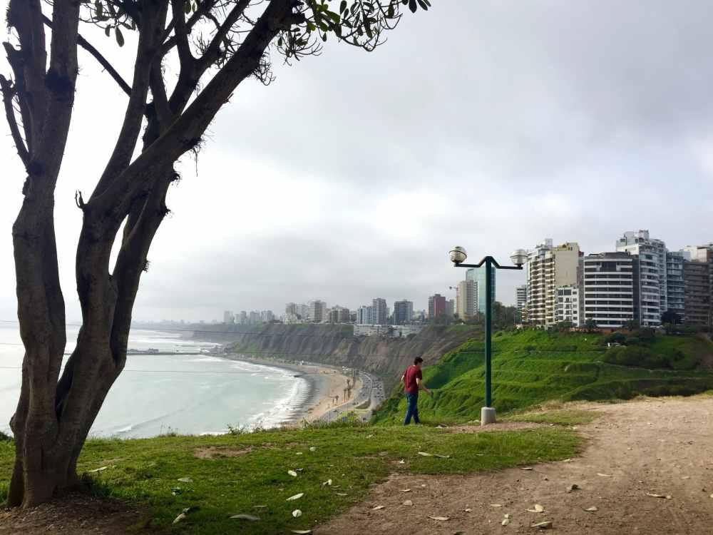 Vue panoramique sur Lima, Pérou