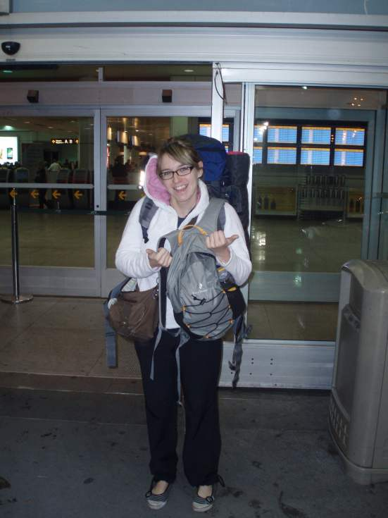 Backpacking Maude Pérou