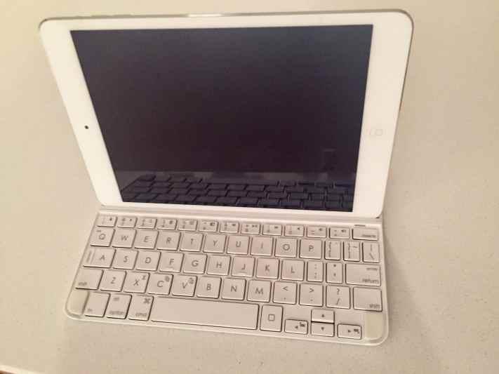 iPad mini et clavier