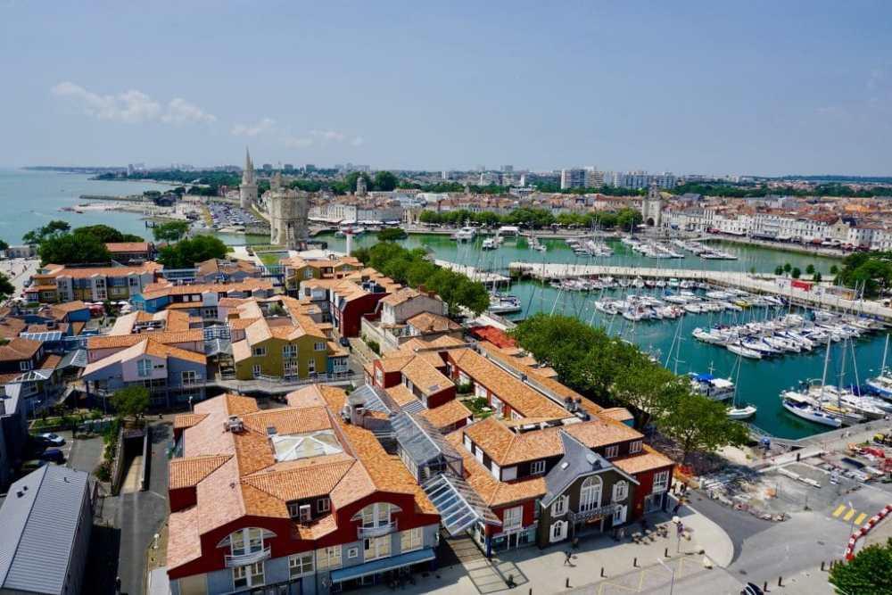 La Rochelle vue de la Grande Roue, France, Nouvelle-Aquitaine