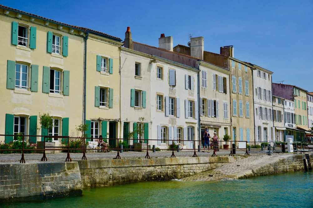 Saint-Martin-de-Ré et son port