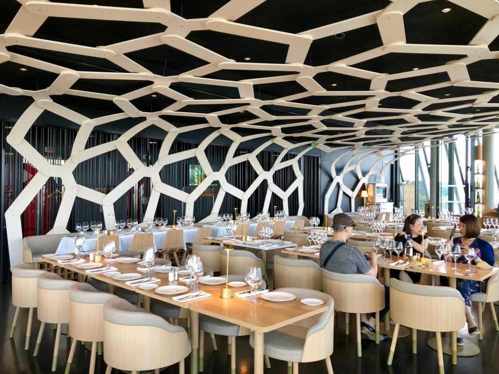 Restaurant le 7 Cité du vin Bordeaux