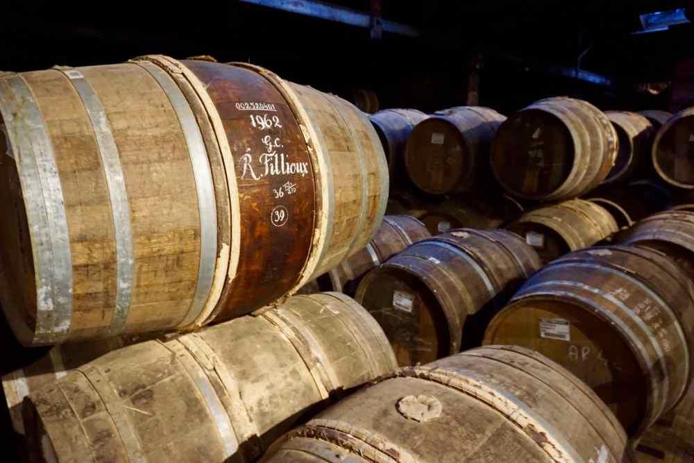 Tonneaux de Cognac de la Maison Hennessy