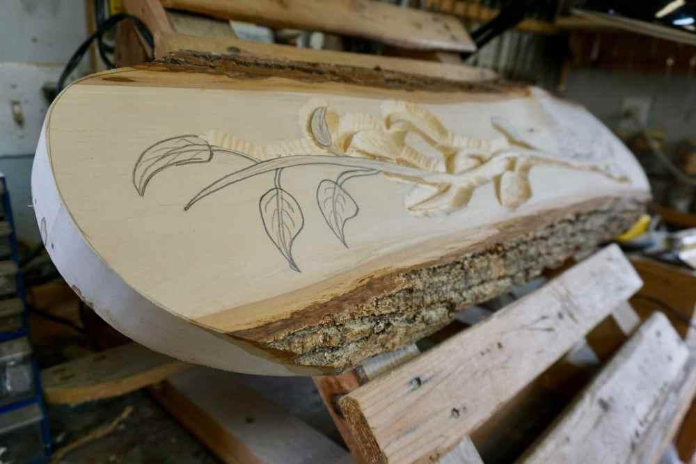 Atelier de bois de Pierre Bolduc sur le Chemin des Artisans en Chaudière-Appalaches, Québec