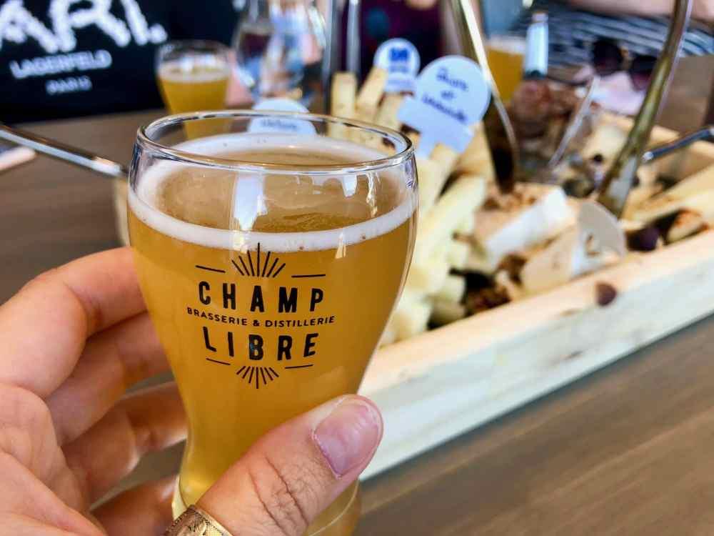 Microbrasserie et Distillerie Champ Libre à Mercier Montérégie Québec