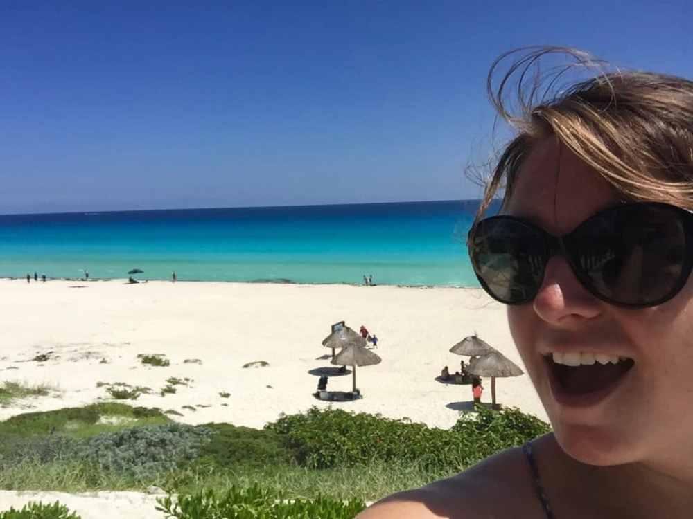 A la Playa Delfines a Cancun au Mexique roadtrip