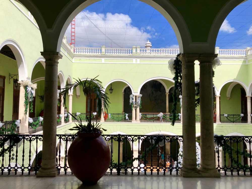 Palacio del Gobierno à Mérida, Mexique