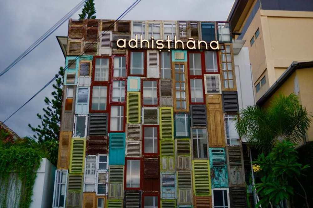 Adhisthana hotel Yogyakarta Java Indonésie