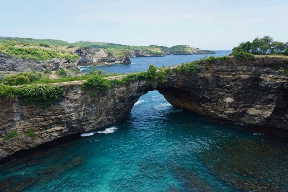 Broken Beach Nusa Penida Bali, Indonésie