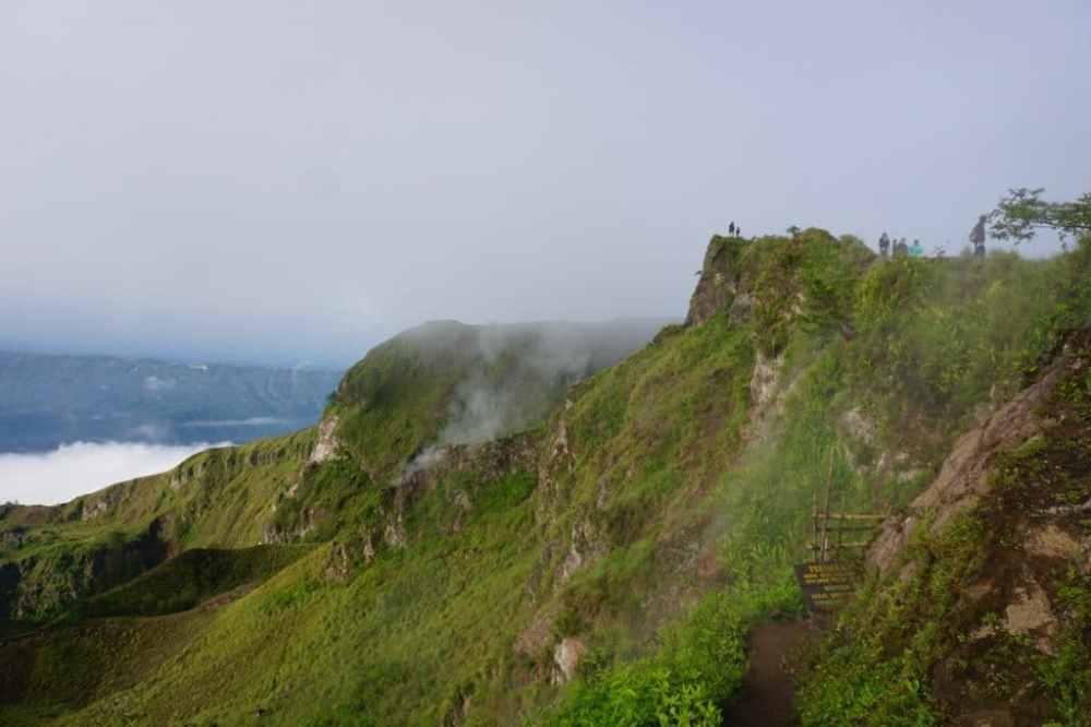Cratère du Mont Batur à Bali, Indonésie