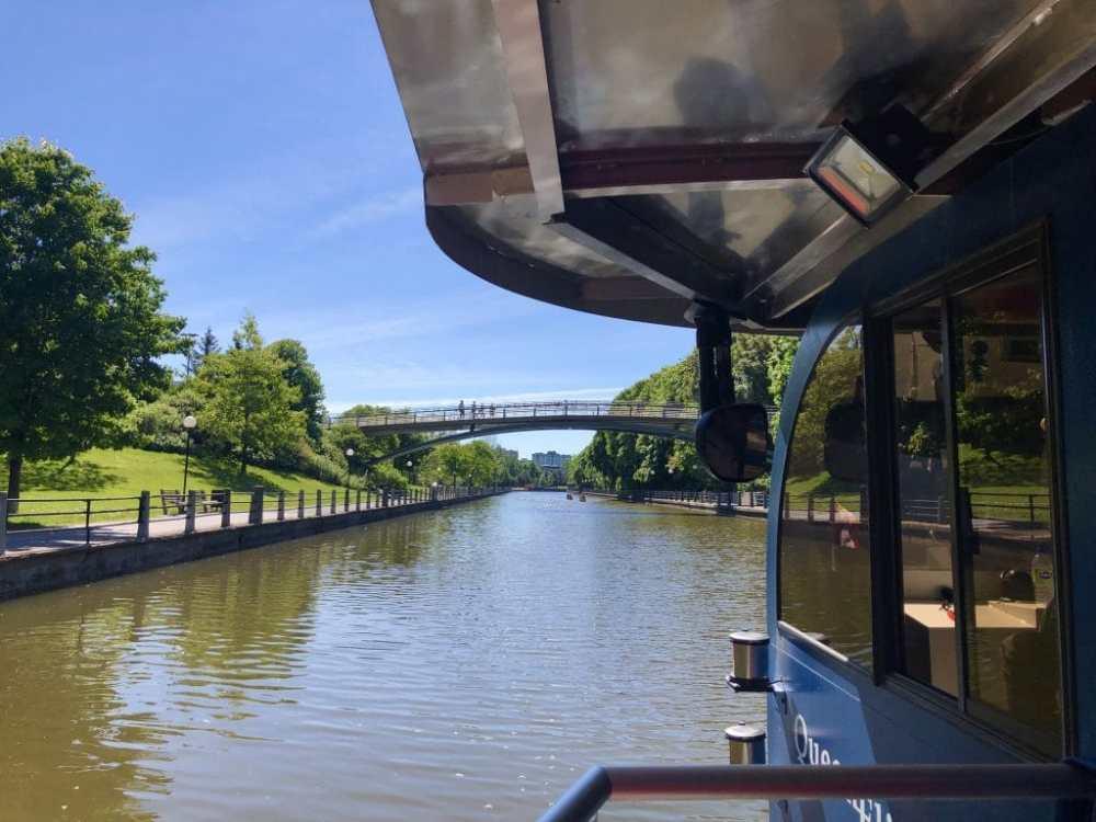 Croisière sur le Canal Rideau en Bateau électrique avec Ottawa River Cruise
