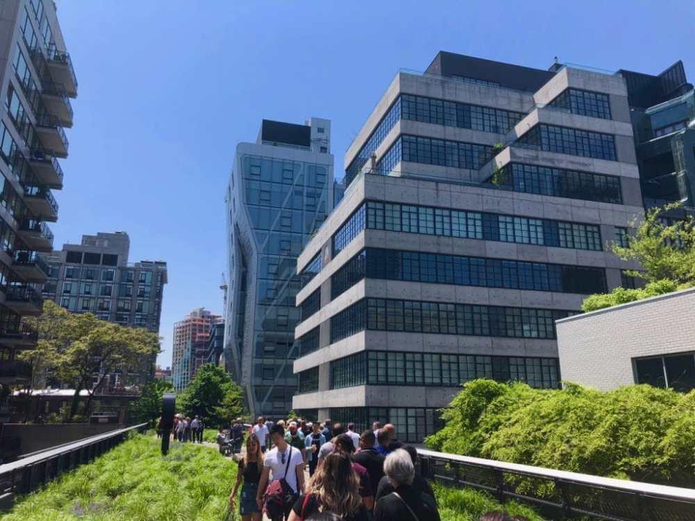 Le fameux High Line de New York