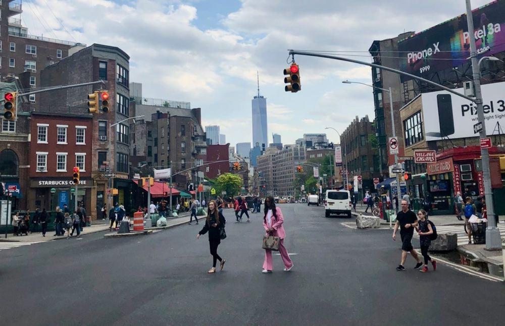 Rue dans Greenwich Village à Manhattan
