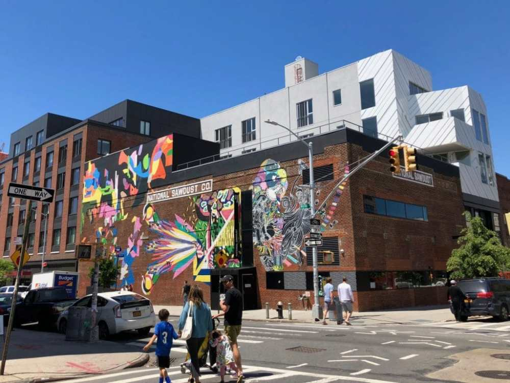 Art de rue dans Brooklyn