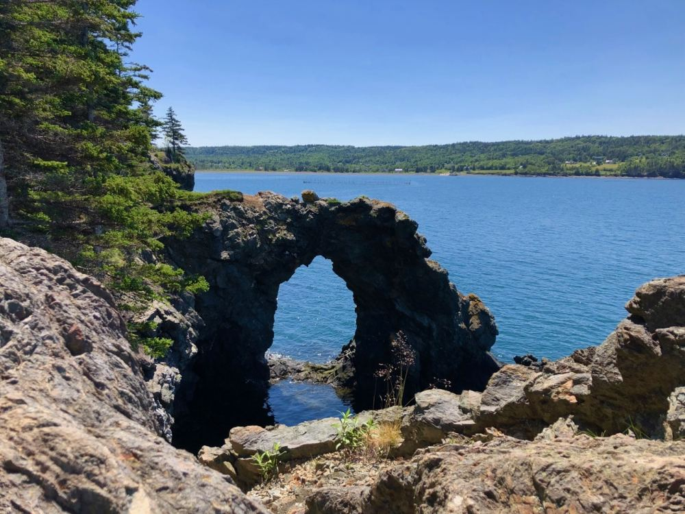 Hole in the wall Grand Manan