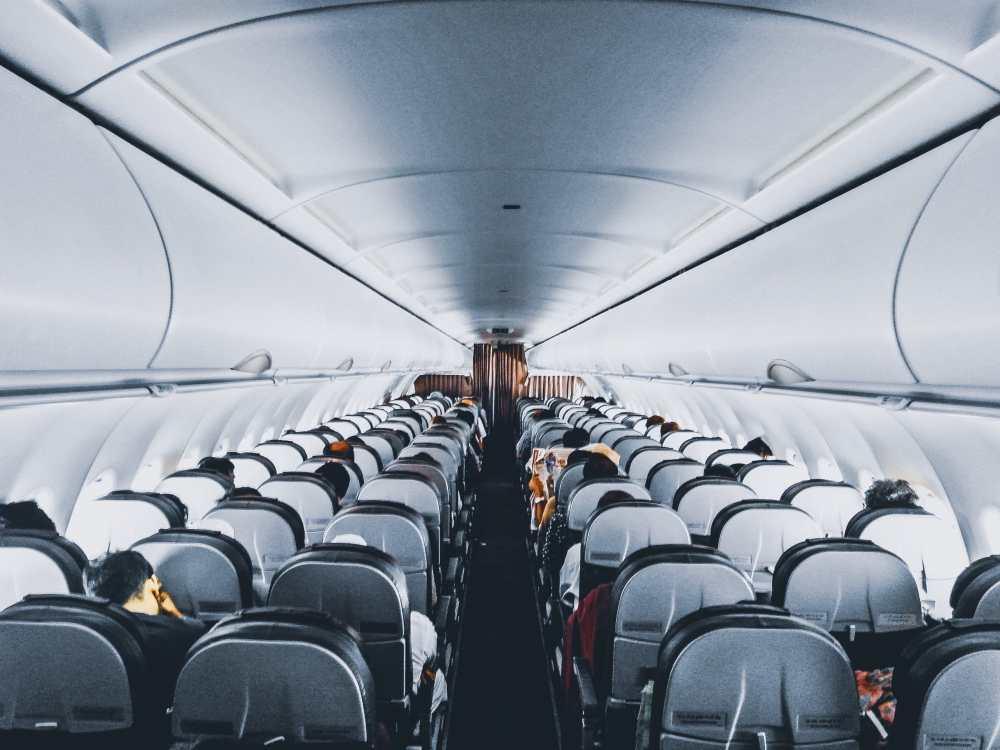 Intérieur avion sièges