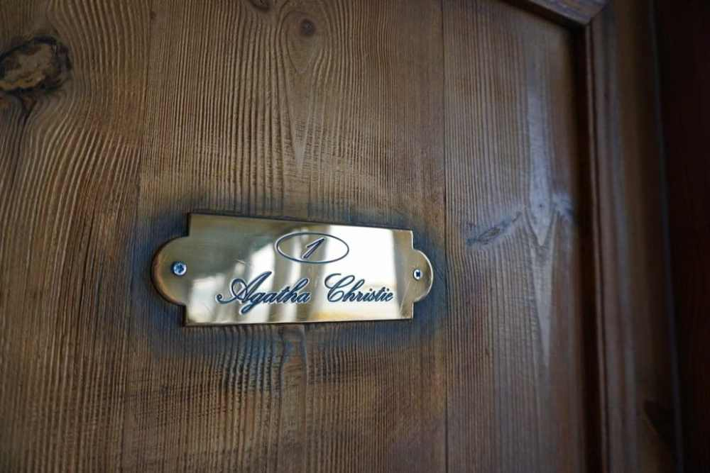 Le chambre Agatha Christie sur le Sudan, Égypte