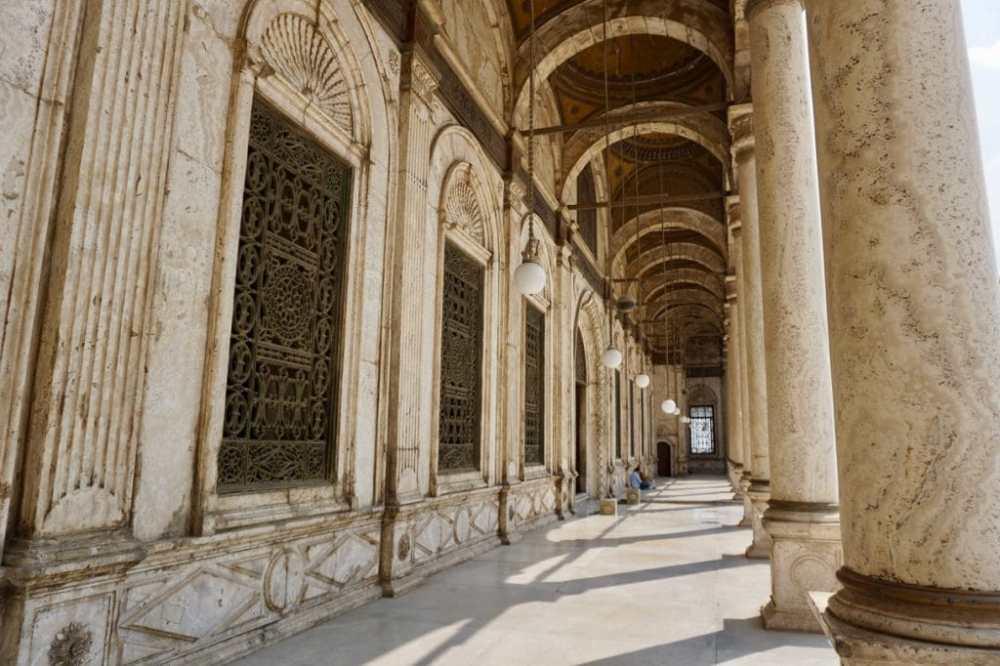 Extérieur de la Mosquée Mohammed Ali au Caire
