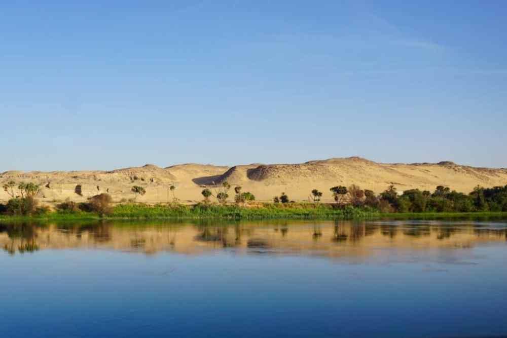 Les paysages du Nil, Égypte