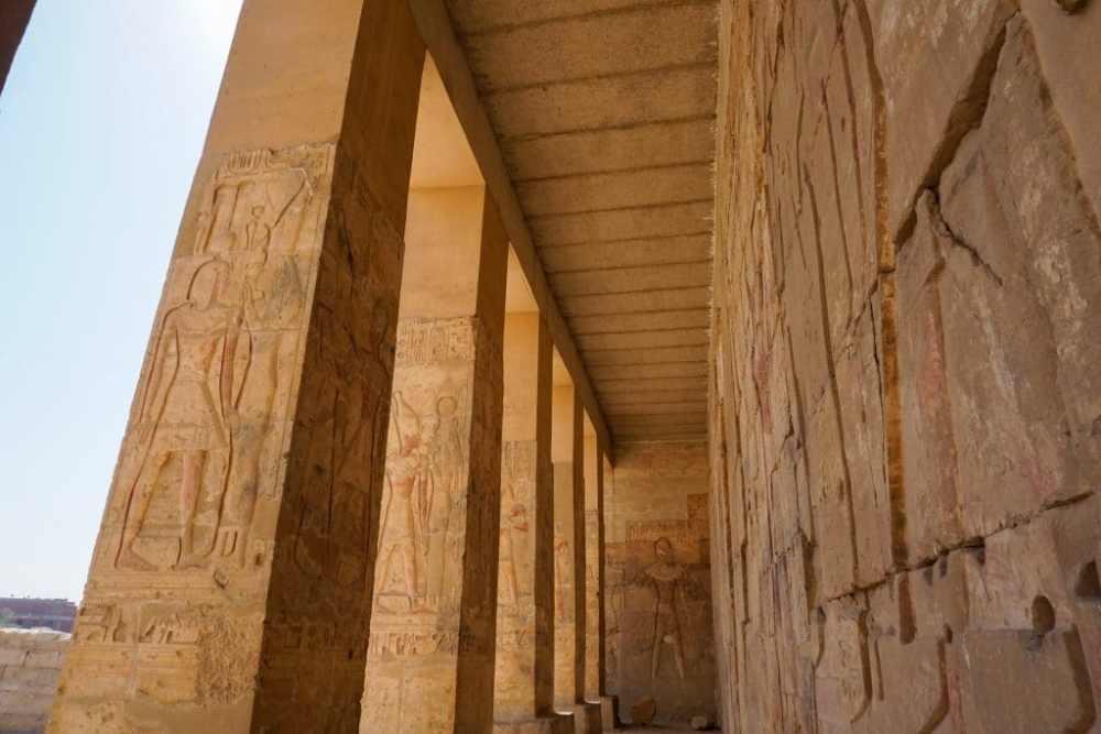 Abydos. Sethi Temple Egypte
