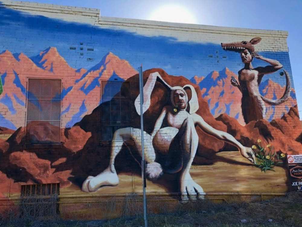 Art de rue à Tuscon