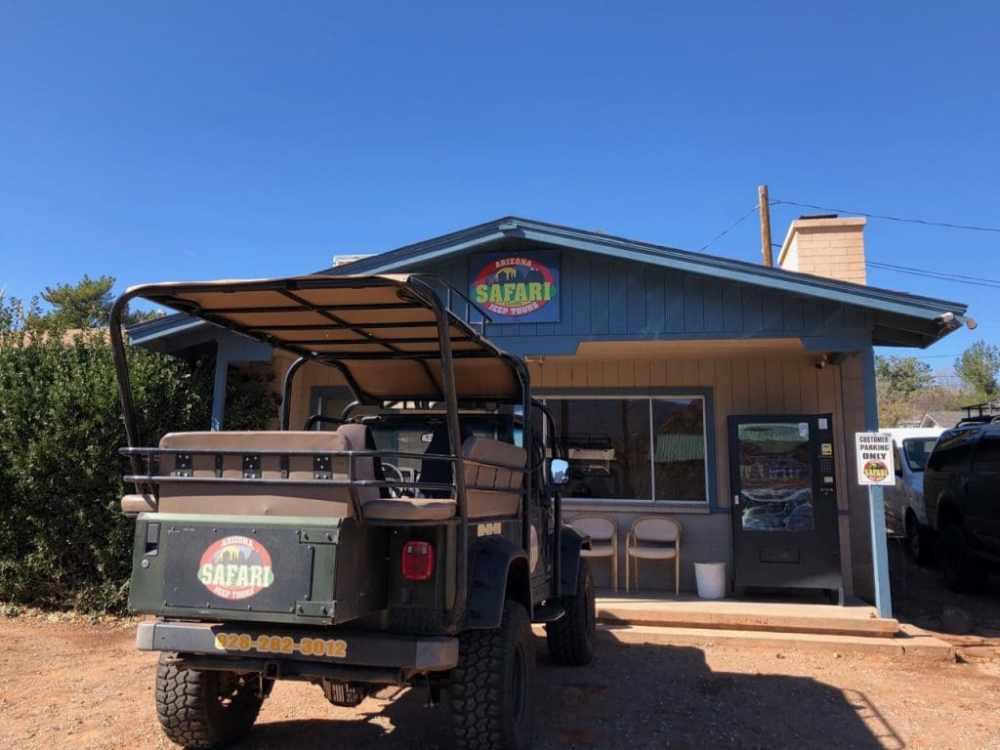Sedona Jeep Tours dans la vallée