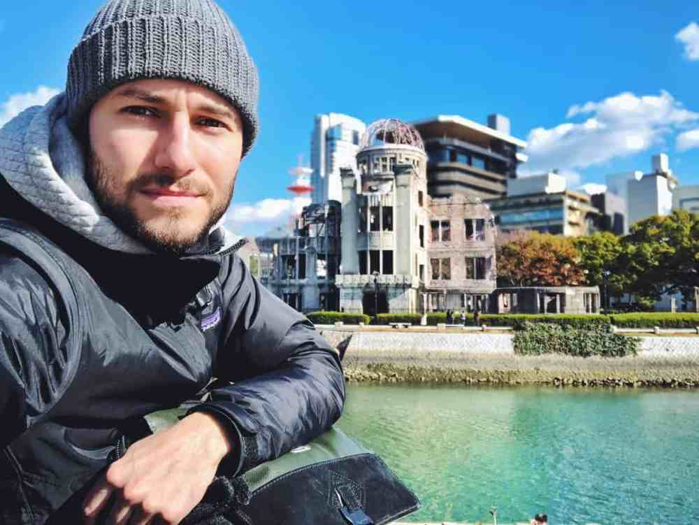 Phil Lacroix à Hiroshima