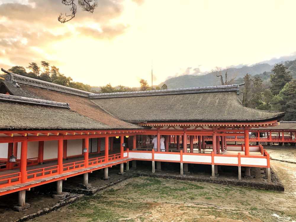 À Miyajima au Japon