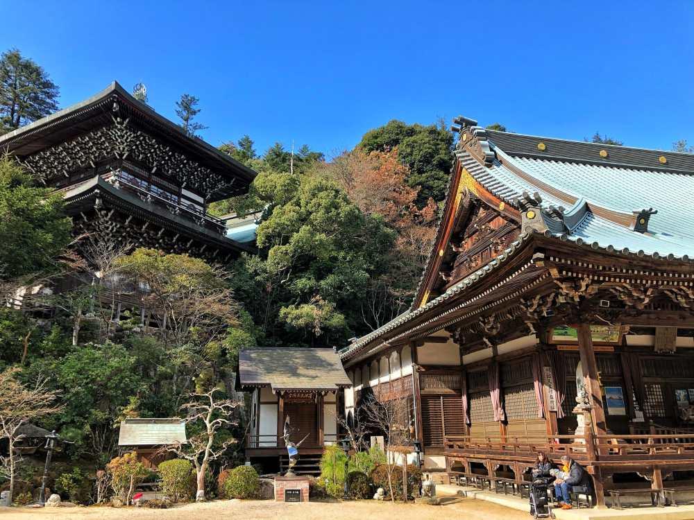 Randonnée sur l'île de Miyajima au Japon