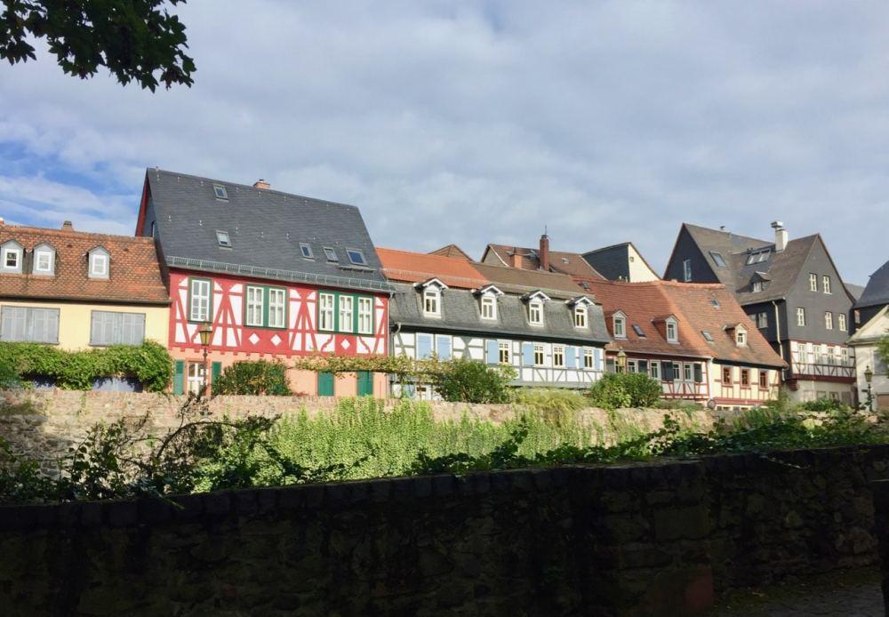 Quartier Hochst de Francfort en Allemagne