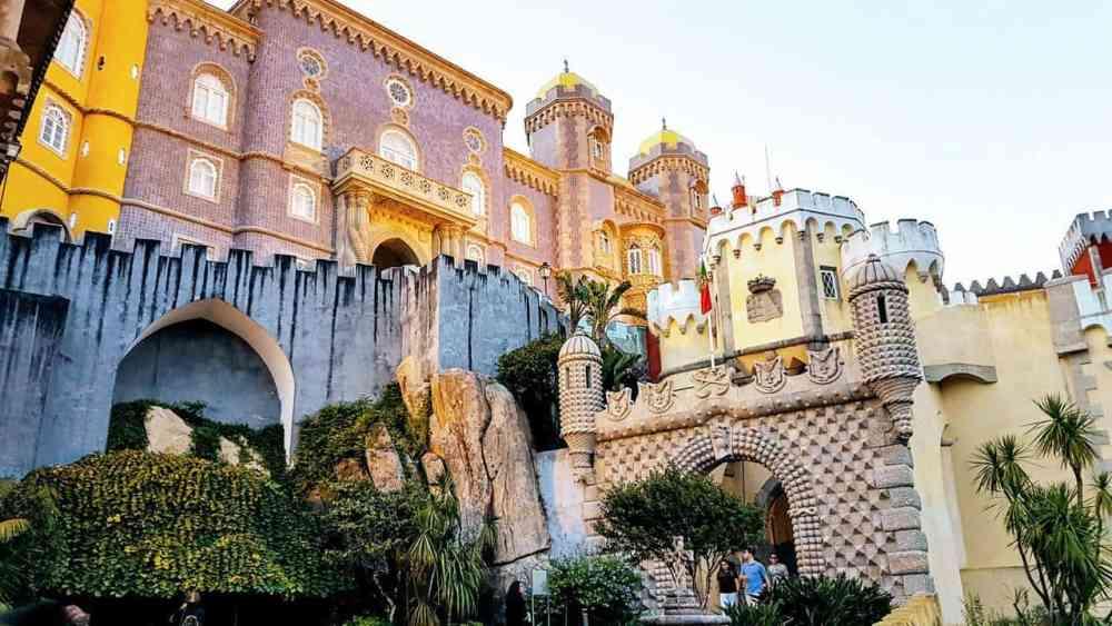 Sintra, Portugal, après Covid